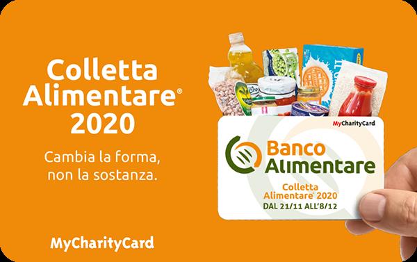 GNCA banco alimentare charity card